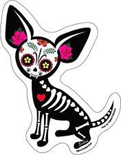 CHIHUAHUA MUERTA zombie dog STICKER **Free Shipping** d 15892 dia de los muertos