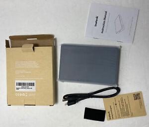 Inateck 2.5 External Hard Drive Enclosure USB 3.0 to Sata HDD SSD Case housin...