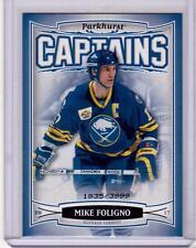 MIKE FOLIGNO 06/07 Parkhurst CAPTAINS Insert Card #168 Buffalo Sabres /3999