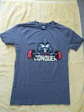 "Men's Ape Athletics/Ever Forward Hyperfit ""Conquer"" T Shirt - S - Rare"