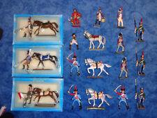 Starlux - 15 Soldaten, 6 Pferde - Napleon, Ulan, Husar, Dragoner   Sehr selten !