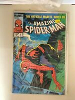 Official Marvel Index to the Amazing Spider-Man # 1 - Ditko back cover VF/NM 9.0