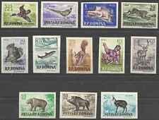 Timbres Animaux Roumanie 1488/99 ** non dentelés lot 10386 - cote : 80 €