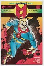 Miracleman 3 Alan Moore Alan Davis Eclipse Comics Reprints Warrior 9 10 11