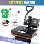 "12"" x 10"" T-Shirt Heat Press Sublimation Transfer Machine 360 Degree Swing Away"