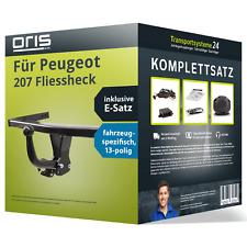Anhängerkupplung ORIS starr für PEUGEOT 207 Fliessheck +E-Satz AHK