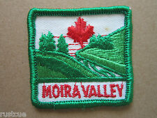 Moira Valley Canada Canadian Boy Scouts Scouting Woven Cloth Patch Badge