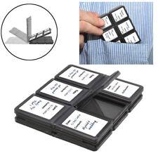 Folding 12-Slots Memory Card Case For Panasonic Lumix DC-FZ80 DMC-FZ2500