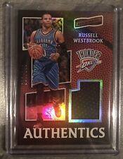 Russell westbrook Panini 2016/17 aficionado authentic card #4 OKC NBA