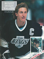 1990 Beckett Hockey Magazine Wayne Gretzky Patrick Roy Premier Issue 1