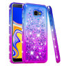 For Samsung J4+ Plus/J4 Prime/J4 Core Case Glitter Bling Diamond Quicksand Cover