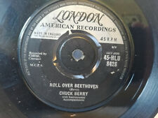 CHUCK BERRY, ROLL OVER BEETHOVEN, 1957 LONDON LABEL 1960 repress Play tested