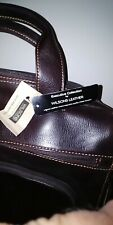 NWT Wilson Leather double gussett briefcase