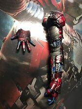 Hot Toys mms145 Iron Man 2 MARK V Figure 1/6 Left Arm Battle Damaged
