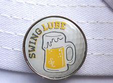 Swing Lube Golf Ball Marker W/Bonus Magnetic Hat Clip
