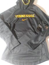 Men's Size Large Nike NCAA Tennessee Volunteers Hooded Sweatshirt Black Style...