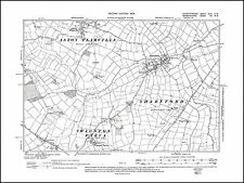 Sharnford, Wigston Parva, Aston Flamville (S) 1904 - old map Leicestershire 43SW