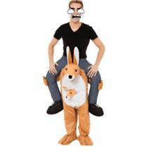 Ride On Cosutme Kangaroo Funny Carry Me Pants Mascot Costume Fancy Dress