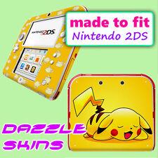 Nintendo 2DS Skin High Quality Glossy Sticker Decal Cover POKEMON PIKACHU 9