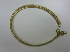 One Metal Gold Coloured Indian Made Anklet with Bells! (AK8)