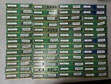 MIX LOT OF 100 2GB DDR2 PC2 RAM SDRAM Desktop Memory unbuffered  (100X2GB)