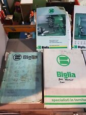 BIGLIA B 42 FANUC OTT-C MANUALS £100 + vat