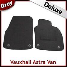 VAUXHALL ASTRA H Van 2004-2009 Tailored LUXURY 1300g Carpet Car Mats GREY