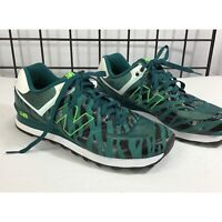 New Balance Men's Size 10.5 D Green/Black 574 Athletic Tennis Shoes