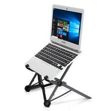 Pyle PLPTS27 Portable laptop stand, foldable adjustable notebook holder