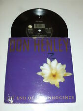 "DON HENLEY - The End Of The Innocence - 1989 UK 7"" Vinyl Single"