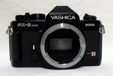 YASHICA FX-3 Super 2000 35mm SLR Film Camera Body Only Tested Meter Working
