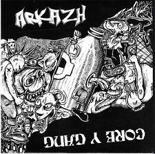 ARKAZH / CORE Y GANG SPLIT EP OI SKIN STREET FOLK PUNK HARDCORE LA FRACTION