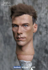 1/6 CUSTOM REPAINT REHAIR hot jean-claude van damme toys figure head dam toys