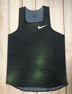 Nike Pro Elite 2018 Distance Singlet Track Field Marathon Running Men's Size XL