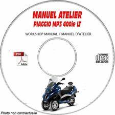 MP3 LT 400ie Manuel Atelier CDROM PIAGGIO Revue technique Expédition - --, Supp