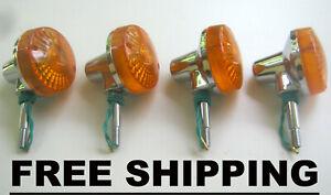 Suzuki DR 400 S GN 250 GN 400 GS 400 GS 550 Turn Signal Winker Set FREE SHIPPING