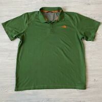 The North Face Green Shirt Polo Short Sleeve Mens Size XL