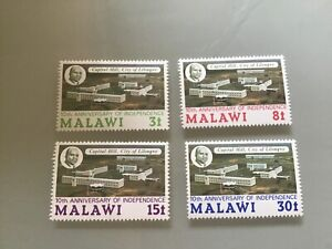 MALAWI MNH 1974 SG462-465 10TH ANNIVERSARY  OF INDEPENDENCE MNH