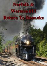 Railroad DVD: Norfolk & Western 611, Memorial Day Weekend 2017 excursions