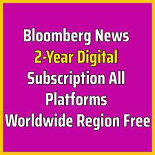 Bloomberg News 2-Year All Platforms Worldwide Region Free