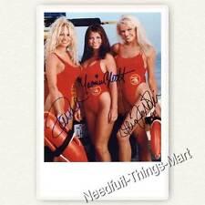 Baywatch - Pamela Anderson, Yasmine Bleeth & Gena Lee Nolin - Autogrammfoto