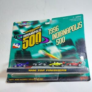 1997 Micro Machines MOC Indianapolis 500 1996 Top Finishers Car Pack Galoob