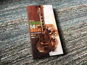 Africa 50 Years Of Music 1960/2010 - 20 CDs - Bonus Edition - UK Seller