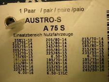 Schneeketten Pewag A 75 S für z.B. VW T5 T6 Vito 4x4 und SUV 215 / 65 16 ...