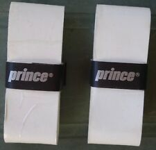 Surgrip Prince blanc pour raquette de tennis -lot de 2 - Neuf
