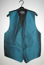 Gilet verde petrolio CARDI COLLECTION Green Waistcoat *
