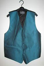Gilet verde petrolio CARDI COLLECTION Green Waistcoat