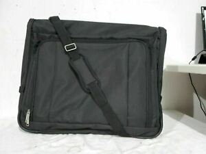 """$220 New Delsey Helium Book Opening Garment Suit Travel Bag Luggage Suitcase 45"""""""