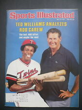 Sports Illustrated July 18, 1977 Rod Carew Ted Williams Twins Nicklaus Jul '77