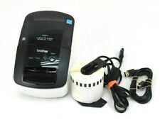 Brother Ql 710w Wireless Thermal Label Maker Printer With Labels And Cords Dk 2205